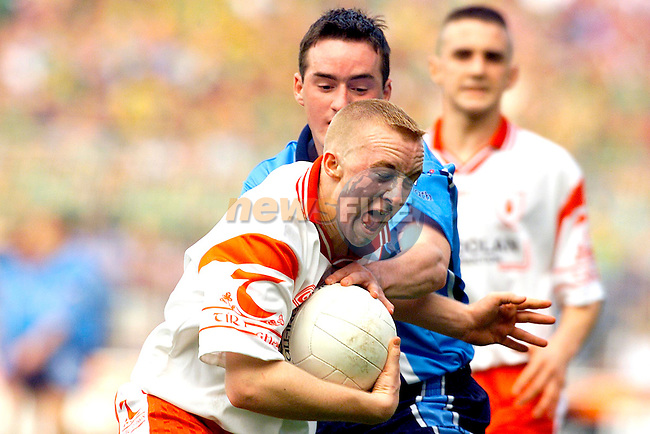 Action from Dublin and Tyrone at Croke Park..Picture: Paul Mohan/Newsfile