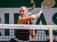 Paris, France, 27 May, 2019, Tennis, French Open, Roland Garros, Kiki Bertens (NED)<br /> Photo: Henk Koster/tennisimages.com