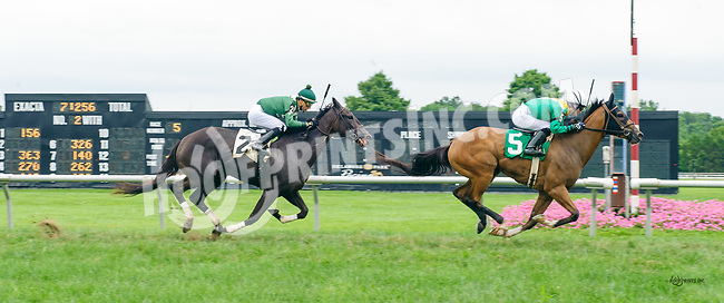 Change The View winning at Delaware Park on 7/27/17