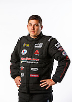 Feb 8, 2018; Pomona, CA, USA; NHRA pro stock driver Drew Skillman poses for a portrait during media day at Auto Club Raceway at Pomona. Mandatory Credit: Mark J. Rebilas-USA TODAY Sports