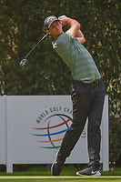 Thomas Pieters (BEL) watches his tee shot on 12 during round 2 of the World Golf Championships, Mexico, Club De Golf Chapultepec, Mexico City, Mexico. 3/2/2018.<br /> Picture: Golffile | Ken Murray<br /> <br /> <br /> All photo usage must carry mandatory copyright credit (&copy; Golffile | Ken Murray)