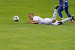 13.07.2019, Parkstadion, Zell am Ziller, AUT, FSP, Werder Bremen vs. Darmstadt 98<br /> <br /> im Bild / picture shows <br /> Marcel Heller (Darmstadt 98 #20)<br /> Ludwig Augustinsson (Werder Bremen #05)<br /> <br /> Foto © nordphoto / Kokenge