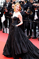Emily Beecham attending the 'Pain and Glory / Dolor y gloria / Leid und Herrlichkeit' premiere during the 72nd Cannes Film Festival at the Palais des Festivals on May 17, 2019 in Cannes, France