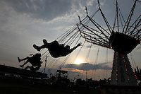 Patrons ride on the rides at the Louisa County Fair. Photo/Andrew Shurtleff