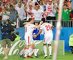 Roger Guerreiro (20) celebrates his goal (1-0) against Austria at Euro 2008. Austria-Poland 06122008, Wien, Austria