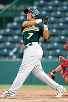 Joel Galarraga - AZL Athletics - 2010 Arizona League. Galarraga is making a rehab appearance in an Arizona League game against the Angels at Diablo Stadium, Tempe, AZ - 07/09/2010..Photo by:  Bill Mitchell/Four Seam Images..