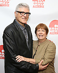 Frank (Fraver) Verlizzo and Susan Schulman attends the 2019 Off Broadway Alliance Awards Reception at Sardi's on June 18, 2019 in New York City.
