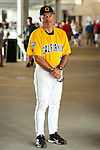 17 June 2011  -- David Esquer California Berkeley Baseball. Portrait of University of California Berkeley baseball coach David Esquer during opening day celebrations on Friday, June 17 at TD Ameritrade Park Omaha for the College World Series in Omaha, Nebraska. PHOTO/Daniel Johnson (Copyright 2011 Daniel Johnson)