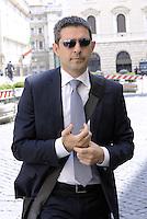 Roma, 3 Luglio 2014<br /> Convegno e assemblea dell'Anci<br /> L'associazione dei Comuni italiani per l'innovazione.<br /> Nella foto Federico Pizzarotti sindaco di Parma.