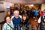 First 3 tickets: Jean Mullane all the way from Chicago, Kieran Burke from Cork and Mary O'Mahony from Cork at the INEC, Killarney last Saturday morning.