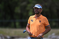Joost Luiten (NLD) after sinking his putt on 12 during day 4 of the Valero Texas Open, at the TPC San Antonio Oaks Course, San Antonio, Texas, USA. 4/7/2019.<br /> Picture: Golffile | Ken Murray<br /> <br /> <br /> All photo usage must carry mandatory copyright credit (© Golffile | Ken Murray)