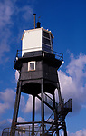 A727Y5 Victorian lighthouse beacon structures Leading Lights Dovercourt Essex England