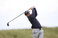 Alan Fahy (Dun Laoghaire) on the 9th tee during Round 2 of The East of Ireland Amateur Open Championship in Co. Louth Golf Club, Baltray on Sunday 2nd June 2019.<br /> <br /> Picture:  Thos Caffrey / www.golffile.ie<br /> <br /> All photos usage must carry mandatory copyright credit (© Golffile | Thos Caffrey)