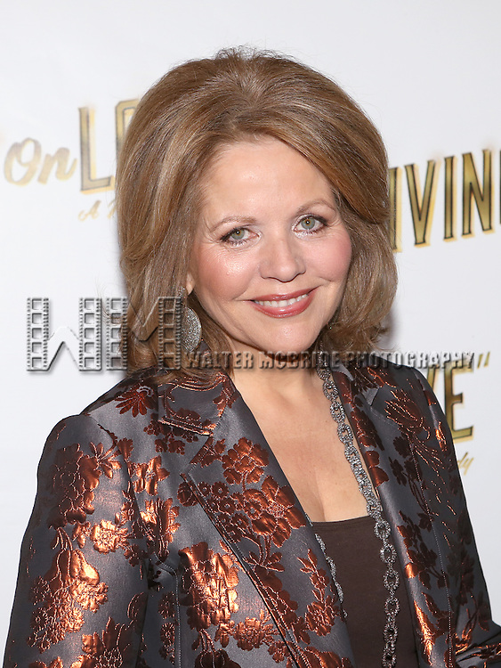 Renee Fleming attends the 'Living on Love' photo call at the Empire Hotel on March 12, 2015 in New York City.