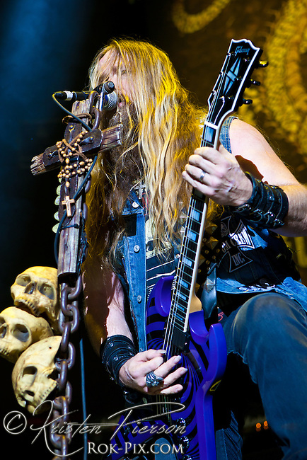Black Label Society perform at Gigantour 2013 at Mohegan Sun July 5 2013