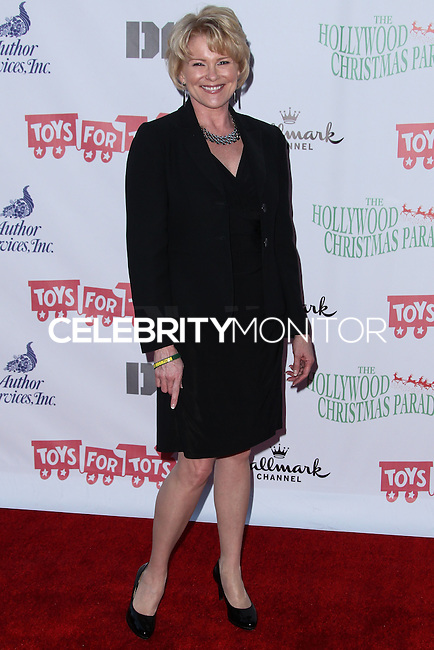 HOLLYWOOD, CA - DECEMBER 01: Judi Evans arriving at the 82nd Annual Hollywood Christmas Parade held at Hollywood Boulevard on December 1, 2013 in Hollywood, California. (Photo by Xavier Collin/Celebrity Monitor)