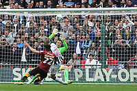Steve Morison scores Millwall's opening goal during Bradford City vs Millwall, Sky Bet EFL League 1 Play-Off Final at Wembley Stadium on 20th May 2017