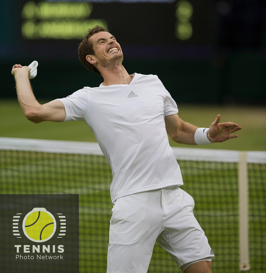 ANDY MURRAY (GBR)<br /> <br /> The Championships Wimbledon 2014 - The All England Lawn Tennis Club -  London - UK -  ATP - ITF - WTA-2014  - Grand Slam - Great Britain -  30th June 2014. <br /> <br /> &copy; Tennis Photo Network