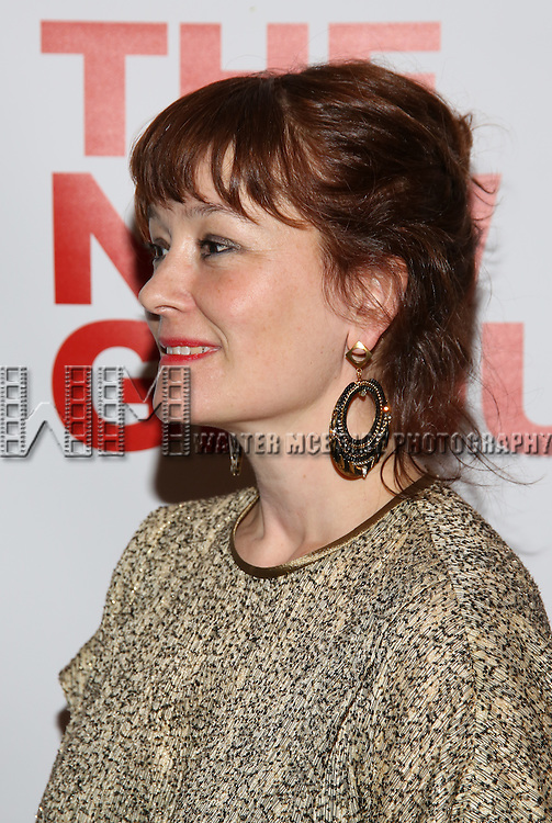"""Erica Schmidt attends the Opening Night of The New Group World Premiere of """"All The Fine Boys"""" at the The Green Fig Urban Eatery on March 1, 2017 in New York City."""