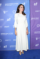 HOLLYWOOD, CA - OCTOBER 20:  Angelina Jolie, at Premiere Of Gkids' 'The Breadwinner' At TCL Chinese 6 Theatres in Hollywood, California on October 20, 2017. Credit: Faye Sadou/MediaPunch /NortePhoto.com