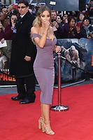 Lauren Pope arriving for the &quot;Rampage&quot; premiere at the Cineworld Empire Leicester Square, London, UK. <br /> 11 April  2018<br /> Picture: Steve Vas/Featureflash/SilverHub 0208 004 5359 sales@silverhubmedia.com