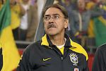 06 June 2008: Brazil assistant coach. The Venezuela Men's National Team defeated the Brazil Men's National Team 2-0 at Gillette Stadium in Foxboro, Massachusetts in an international friendly soccer match.