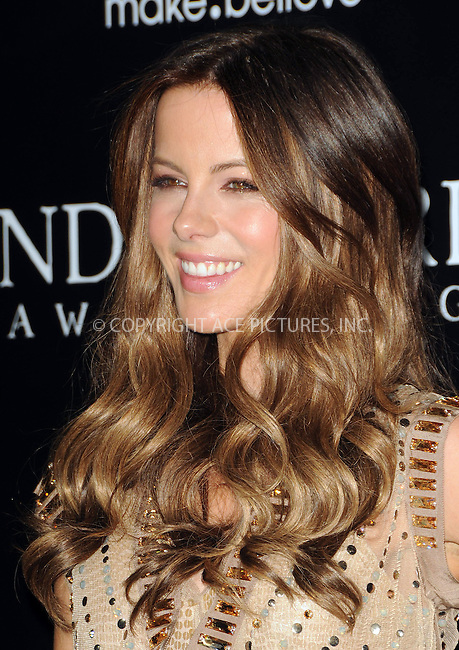 WWW.ACEPIXS.COM . . . . .  ....January 19 2012, LA....Actress Kate Beckinsale arriving at the Los Angeles premiere of 'Underworld Awakening' at Grauman's Chinese Theatre on January 19, 2012 in Hollywood, California. ....Please byline: PETER WEST - ACE PICTURES.... *** ***..Ace Pictures, Inc:  ..Philip Vaughan (212) 243-8787 or (646) 679 0430..e-mail: info@acepixs.com..web: http://www.acepixs.com