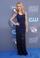 11 January 2018 - Santa Monica, California - Holly Hunter. 23rd Annual Critics' Choice Awards held at Barker Hangar. <br /> CAP/ADM/BT<br /> &copy;BT/ADM/Capital Pictures