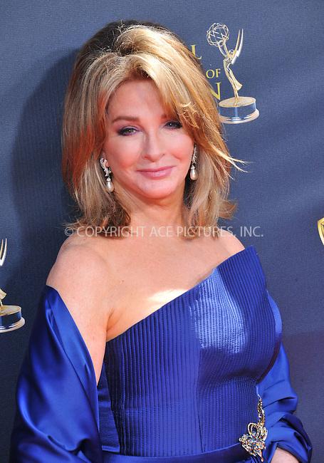 WWW.ACEPIXS.COM<br /> <br /> April 26 2015, LA<br /> <br /> Deidre Hall arriving at The 42nd Annual Daytime Emmy Awards at Warner Bros. Studios on April 26, 2015 in Burbank, California.<br /> <br /> By Line: Peter West/ACE Pictures<br /> <br /> <br /> ACE Pictures, Inc.<br /> tel: 646 769 0430<br /> Email: info@acepixs.com<br /> www.acepixs.com