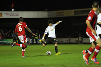 Capital One League Cup, Third Round, Crawley Town (red) v Swansea City (white) 25/09/12<br /> Picture by: Ben Wyeth / Athena Picture Agency
