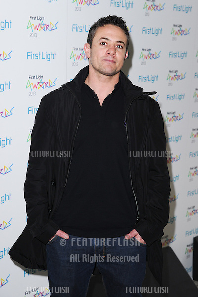 Warren Brown arriving for the First Light Movie Awards 2013 at the Odeon Leicester Square, London. 19/03/2013 Picture by: Steve Vas / Featureflash
