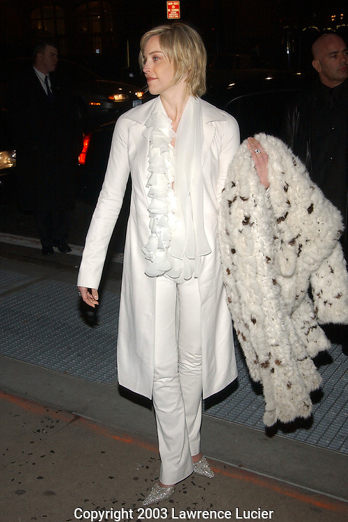 Sharon Stone in Vera Wang