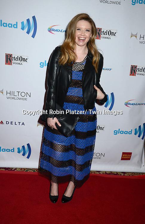 Natasha Lyonne attends the 25th Annual GLAAD Media Awards at the Waldorf Astoria Hotel in New York City, NY on May 3, 2014.