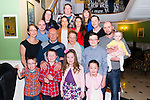 Dona Brosnan from Firies cerebrated her 60th birthday surrounded by family and friends in the Dromhall Hotel, Killarney last Saturday night.