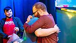 Adam Friedman gets hug from Randy Ohel