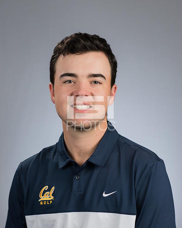 Berkeley, CA - April 12, 2017: The Cal Bears 2016-2017 M Tennis Team