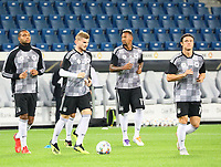 Jonathan Tah (Deutschland Germany), Timo Werner (Deutschland Germany), Jerome Boateng (Deutschland Germany), Nico Schulz (Deutschland Germany) - 09.09.2018: Deutschland vs. Peru, Wirsol Arena Sinsheim, Freundschaftsspiel DISCLAIMER: DFB regulations prohibit any use of photographs as image sequences and/or quasi-video.