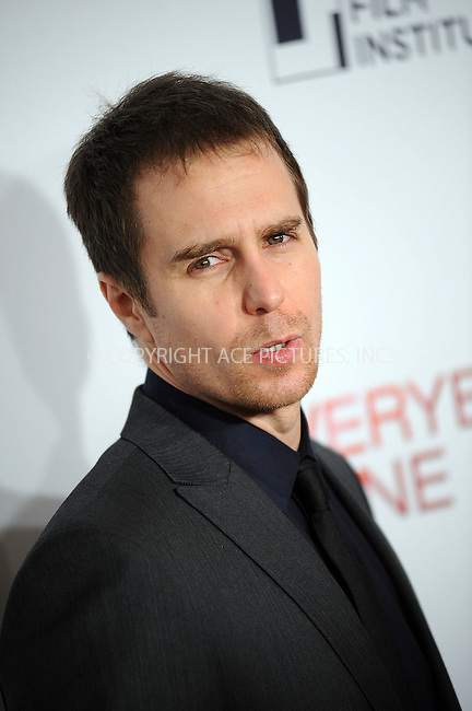 WWW.ACEPIXS.COM . . . . . ....December 3 2009, New York City....Actor Sam Rockwell arriving at the Tribeca Film Institute benefit screening of 'Everybody's Fine' at AMC Lincoln Square on December 3, 2009 in New YorkCity ....Please byline: KRISTIN CALLAHAN - ACEPIXS.COM.. . . . . . ..Ace Pictures, Inc:  ..(212) 243-8787 or (646) 679 0430..e-mail: picturedesk@acepixs.com..web: http://www.acepixs.com