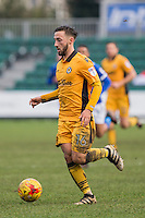 Josh Sheehan of Newport County during the Sky Bet League 2 match between Newport County and Carlisle United at Rodney Parade, Newport, Wales on 12 November 2016. Photo by Mark  Hawkins.