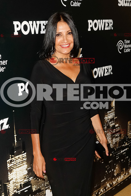New York, NY -  June 2 : Actress Katherine Narducci attends the Power Premiere held at the Highline Ballroom on June 2, 2014 in New York City. Photo by Brent N. Clarke / Starlitepics