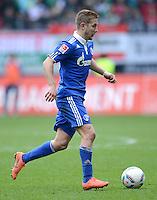 FUSSBALL   1. BUNDESLIGA  SAISON 2011/2012   32. Spieltag FC Augsburg - FC Schalke 04         22.04.2012 Lewis Holtby (FC Schalke 04)