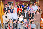 Eve Moynihan, Glenflesk who celebrated her christening with her parents Noreen and Seamus, big brother Jamie, big sister Cliona and with their family and friends in the Failte Hotel Killarney on Saturday .