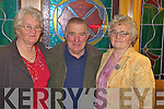 Enjoying the Mid Kerry Farmers Dance in the Heights Hotel, Killarney on Saturday night were Joan and Coleman Barrett with Kay O'Dowd Casey.   Copyright Kerry's Eye 2008