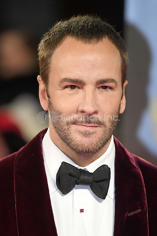 LONDON, ENGLAND - FEBRUARY 12: Tom Ford attends the 70th EE British Academy Film Awards (BAFTA) at Royal Albert Hall on February 12, 2017 in London, England.<br /> CAP/BEL<br /> &copy;BEL/Capital Pictures /MediaPunch ***NORTH AND SOUTH AMERICAS ONLY***
