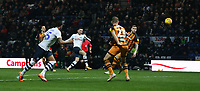 Preston North End's Alan Browne scores his side's equalising goal to make the score 1-1<br /> <br /> Photographer Stephen White/CameraSport<br /> <br /> The EFL Sky Bet Championship - Preston North End v Hull City - Wednesday 26th December 2018 - Deepdale Stadium - Preston<br /> <br /> World Copyright &copy; 2018 CameraSport. All rights reserved. 43 Linden Ave. Countesthorpe. Leicester. England. LE8 5PG - Tel: +44 (0) 116 277 4147 - admin@camerasport.com - www.camerasport.com