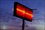 Liquor Locker sign on the Sunset Strip circa 1979