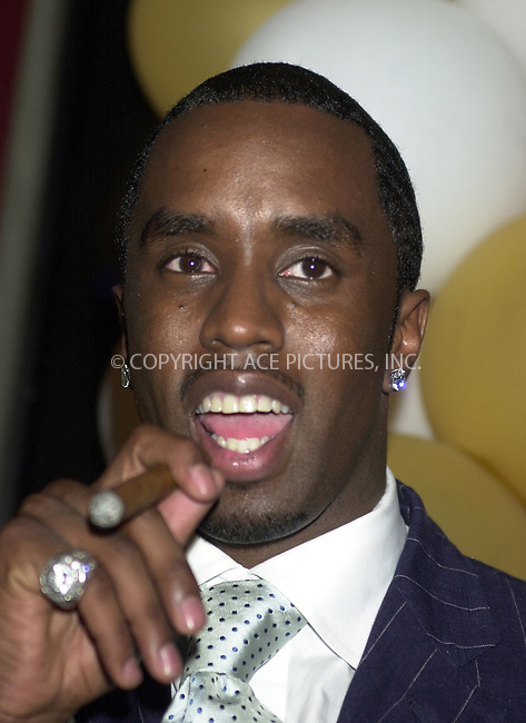 WWW.ACEPIXS.COM . . .  ....NEW YORK, JULY 2, 2002 ....STOCK PHOTO: SEAN P. DIDDY COMBS....Please byline: ACE007 - ACE PICTURES... *** ***  ..Ace Pictures, Inc:  ..Philip Vaughan (646) 769-0430..e-mail: info@acepixs.com..web: http://www.acepixs.com