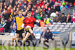 Kenmare in Action against \b0\  Ballinasloe in the Junior All Ireland Club Final in Croke park on Sunday.