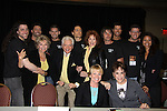 Days cast with Mr. Romance Contestants - L to R: David, Shane, Susan Seaforth Hayes, Chris, Bill Hayes, Dave, Suzanne Rogers, Jeremy, Len (WINNER), Scott, Renee Jones - Front Judi Evans & Louise Sorel at Romantic Times Booklovers Annual Convention 2011 - The Book Industry Event of the Year - April 9, 2011 at the Westin Bonaventure, Los Angeles, California for readers, authors, booksellers, publishers, editors, agents and tomorrow's novelists - the aspiring writers. (Photo by Sue Coflin/Max Photos)
