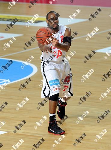 2012-05-22 / Basketbal / seizoen 2011-2012 / Play-Offs / Antwerp Giants - Charleroi / Bryan Hopkins..Foto: Mpics.be